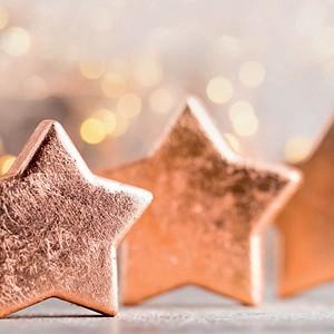SIGEL Weihnachtsbriefpapier Copper Glance Motiv DIN A4 90 g/qm 100 Blatt