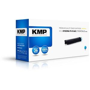 KMP K-T76C cyan Toner ersetzt KYOCERA TK-5160C