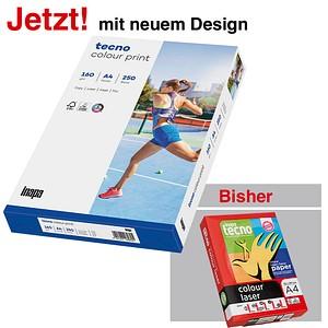 tecno Laserpapier colour print DIN A4 160 g/qm 250 Blatt