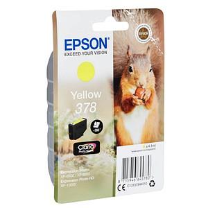 EPSON 378/T37844 gelb Tintenpatrone