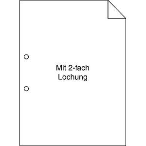 Plano Kopierpapier Superior DIN A4 80 g/qm 2-fach gelocht 500 Blatt