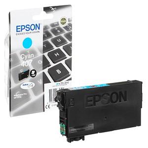 EPSON 407 / T07U2 cyan Tintenpatrone