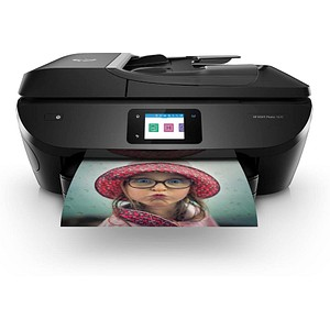 HP ENVY Photo 7830 All-in-One 4 in 1 Tintenstrahl-Multifunktionsdrucker schwarz