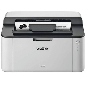 brother HL-1110 Laserdrucker grau