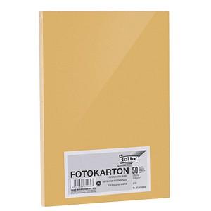 folia Fotokarton gold DIN A4 300 g/qm