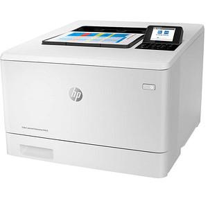 HP Color LaserJet Enterprise M455dn Farb-Laserdrucker weiß