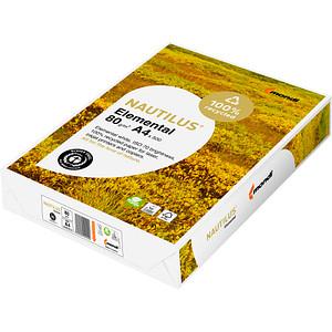 NAUTILUS® Recyclingpapier Elemental DIN A4 80 g/qm 500 Blatt