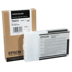 EPSON T6051 Foto schwarz Tintenpatrone