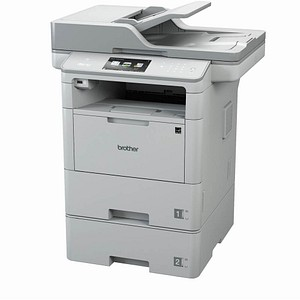 brother MFC-L6800DWT 4 in 1 Laser-Multifunktionsdrucker grau
