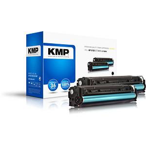2 KMP H-T189DX schwarz Toner ersetzen HP 312X (CF380XD)