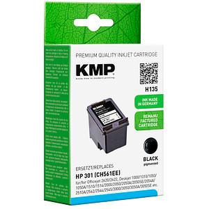 KMP H135 schwarz Tintenpatrone ersetzt HP 301 (CH561EE)