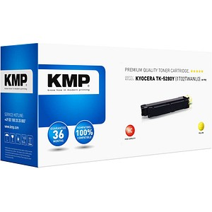 KMP K-T92 gelb Toner ersetzt KYOCERA TK-5280Y