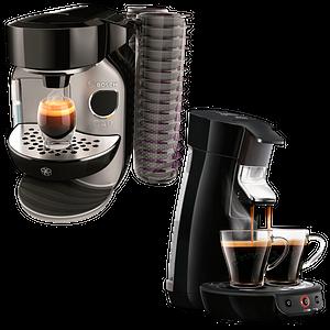 Disc- & Kaffeepadmaschinen