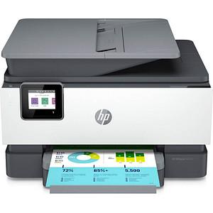 HP OfficeJet Pro 9012e All-in-One 4 in 1 Tintenstrahl-Multifunktionsdrucker weiß