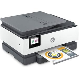 HP OfficeJet Pro 8022e All-in-One 4 in 1 Tintenstrahl-Multifunktionsdrucker grau