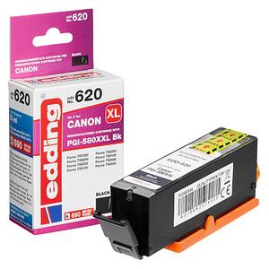 edding EDD-620 schwarz Tintenpatrone ersetzt Canon PGI-580XXL BK