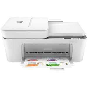 HP DeskJet 4120e All-in-One 3 in 1 Tintenstrahl-Multifunktionsdrucker weiß