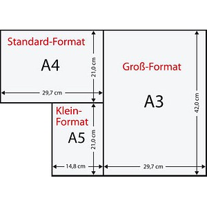 Clairefontaine Kopierpapier Clairalfa DIN A4 210 g/qm 250 Blatt