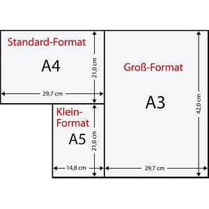 Rainbow Kopierpapier COLOURED PAPER violett DIN A4 160 g/qm 250 Blatt