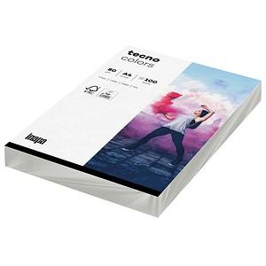 tecno Kopierpapier colors grau DIN A4 80 g/qm 100 Blatt