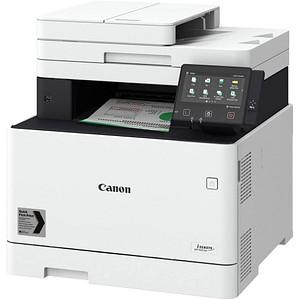 Canon i-SENSYS MF744Cdw 4 in 1 Farblaser-Multifunktionsdrucker weiß
