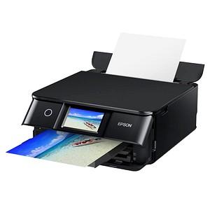 EPSON Expression Photo XP-8600 3 in 1 Tintenstrahl-Multifunktionsdrucker schwarz