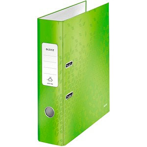 LEITZ WOW 1005 Ordner grün Karton 8,0 cm DIN A4