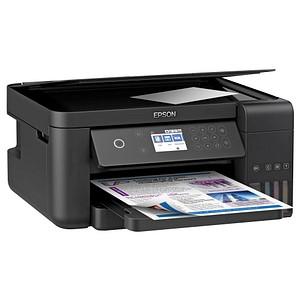 EPSON EcoTank ET-3700 3 in 1 Tintenstrahl-Multifunktionsdrucker schwarz