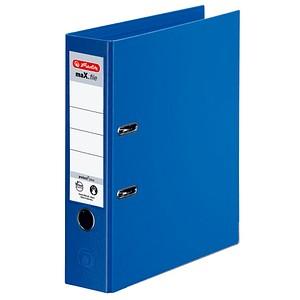 herlitz maX.file protect plus Ordner blau Kunststoff 8,0 cm DIN A4