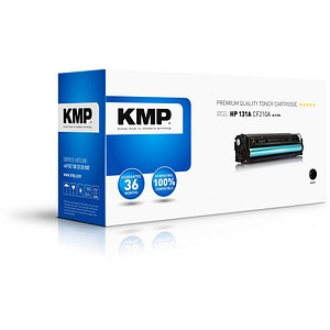 KMP H-T175 schwarz Toner ersetzt HP 131A; Canon  731BK(CF210A;  6272B002)