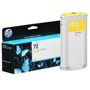 HP 72 (C9373A) gelb Tintenpatrone