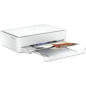 HP ENVY 6022 All-in-One 3 in 1 Tintenstrahl-Multifunktionsdrucker weiß