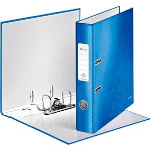 LEITZ WOW 1006 Ordner blau Karton 5,0 cm DIN A4