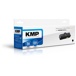 KMP H-T14 schwarz Toner ersetzt Kyocera TK-130