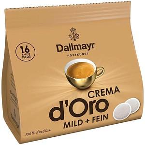 Dallmayr Crema d'Oro Kaffeepads 16 Pads