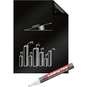 Legamaster Flipchart-Folie Magic-Chart Blackboard blanko 60,0 x 80,0 cm, 25 Blatt