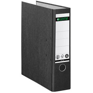 AKTION: 10 LEITZ 1080 Ordner schwarz marmoriert Karton 8,0 cm DIN A4 + GRATIS reisenthel shopperM nautic
