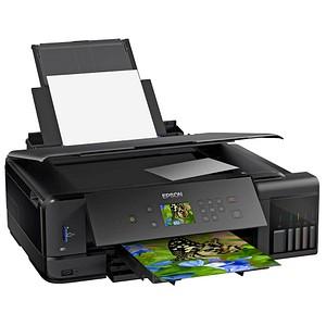 EPSON EcoTank ET-7750 3 in 1 Tintenstrahl-Multifunktionsdrucker schwarz