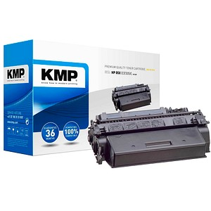 KMP H-T237 schwarz Toner ersetzt HP 05XXL (CE505X)