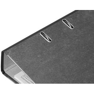 dots Ordner schwarz marmoriert Karton 8,0 cm DIN A4