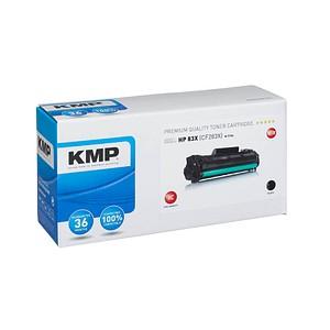KMP H-T194 schwarz Toner ersetzt HP 83X (CF283X)