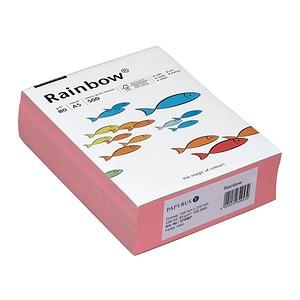 Rainbow Kopierpapier COLOURED PAPER rosa DIN A5 80 g/qm 500 Blatt