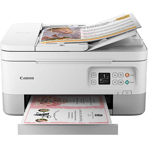 Canon PIXMA TS7451 3 in 1 Tintenstrahl-Multifunktionsdrucker weiß