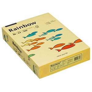 Rainbow Kopierpapier COLOURED PAPER gelb DIN A4 80 g/qm 500 Blatt