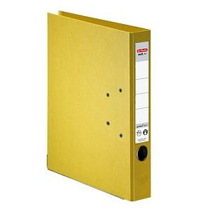 herlitz maX.file protect plus Ordner gelb Kunststoff 5,0 cm DIN A4