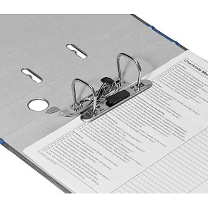 LEITZ 1050 Ordner blau marmoriert Karton 5,2 cm DIN A4