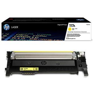 HP 117A (W2072A) gelb Tonerkartusche