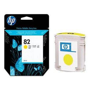 HP 82 (C4913A) gelb Tintenpatrone