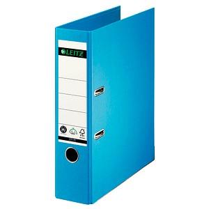 LEITZ 1007 Ordner hellblau Karton 8,0 cm DIN A4