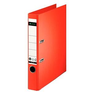 LEITZ 1008 Ordner hellrot Karton 5,2 cm DIN A4